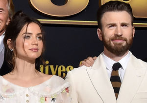Watch Ana de Armas Crack Up 'Knives Out' Co-Star Chris Evans by Talking…