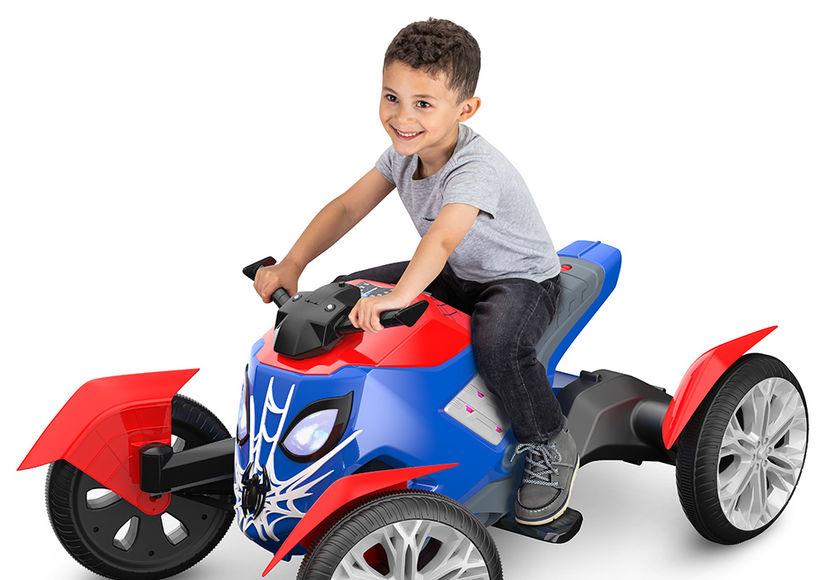 Win It! A Kid Trax Marvel Spiderbike