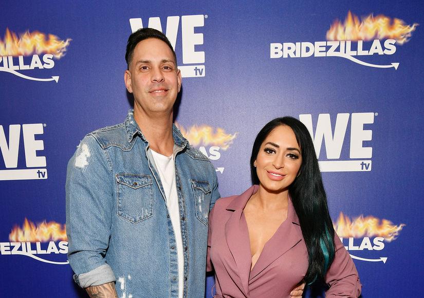 Reality Star Angelina Pivarnick Marries Chris Larangeira