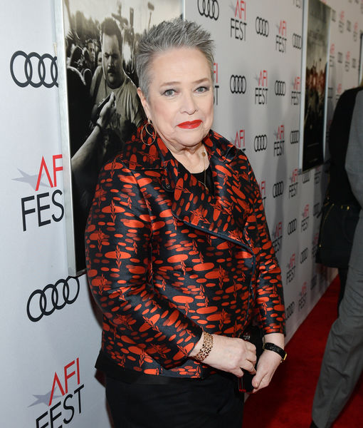 Kathy Bates' Emotional Interview: 'I'm Grateful That I'm Alive'