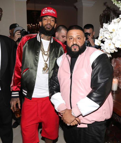 DJ Khaled Reacts to Grammy Nods, Says He'd Love to Honor Nipsey at Show