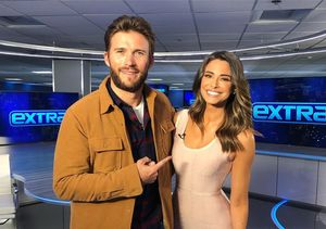 LOL! Watch Scott Eastwood Bust 'Extra's' Jenn Lahmers' Chops