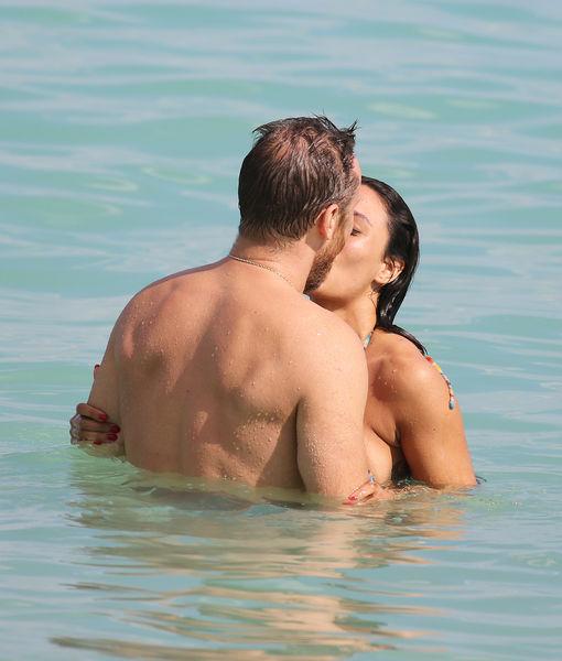 David Guetta & GF Jessica Ledon Enjoy Hot Miami Vacay
