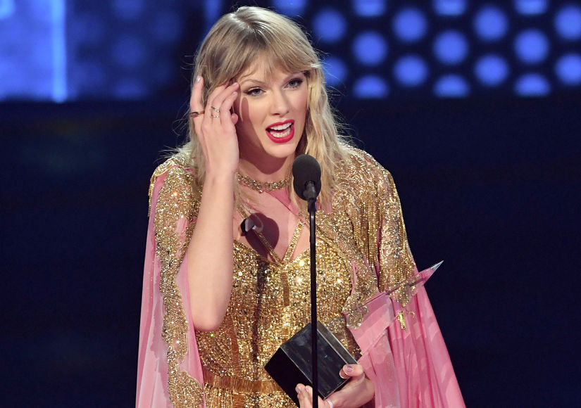 Taylor Swift Delivers Powerful AMAs Artist of the Decade Speech