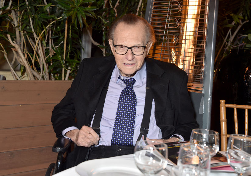 Larry King Reveals He Was in a Coma After Suffering a Stroke Earlier This Year