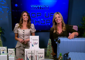 'Extra's' Holiday Pop-Up Shop: Luggage Sets, Sonic Toothbrushes, and…