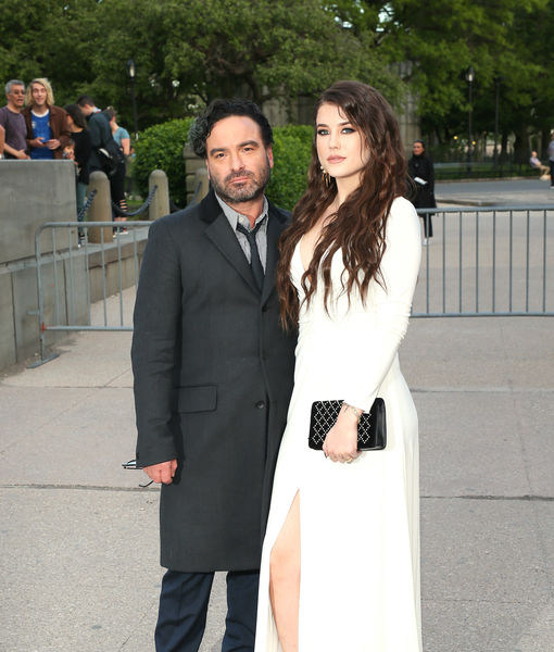 Johnny Galecki & Much Younger GF Alaina Meyer Welcome First Child! See the Pic