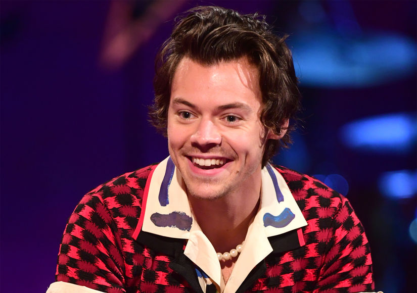Fans Go Wild Over Eye-Popping Pic of Harry Styles, and His Adorable Manicure
