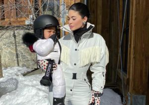 Cute Overload! Kylie Jenner Shares Video of 1-Year-Old Stormi Snowboarding