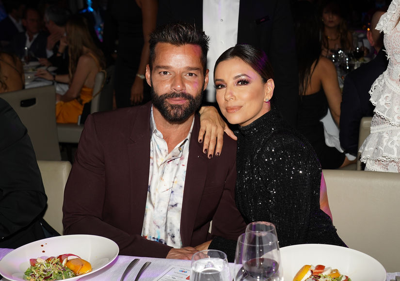 Eva Longoria & Ricky Martin Talk Holiday Plans, Plus: How They Met As Teens