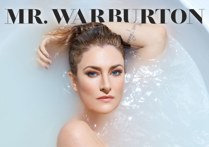 Mädchen Amick Shows Off Her Assets at 49 in Mr. Warburton Magazine