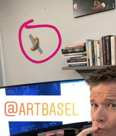 Peep the new office art.