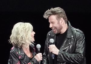 Olivia Newton-John & John Travolta Reunite as Their 'Grease' Characters!