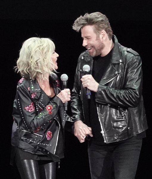 Olivia Newton-John & John Travolta Reunite as 'Grease' Characters!