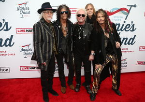 Aerosmith Is Bringing the Party to MusiCares