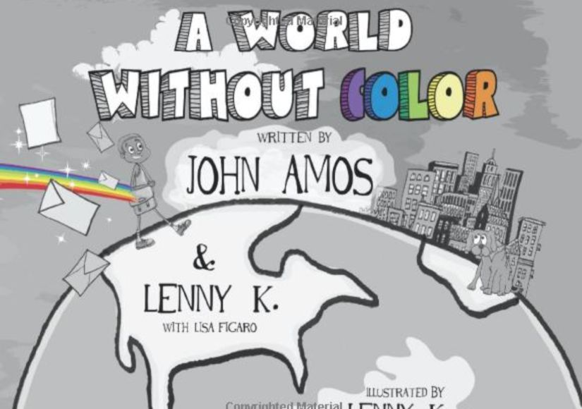 Win It! A Signed Copy of John Amos' Children's Book 'A World Without Color'
