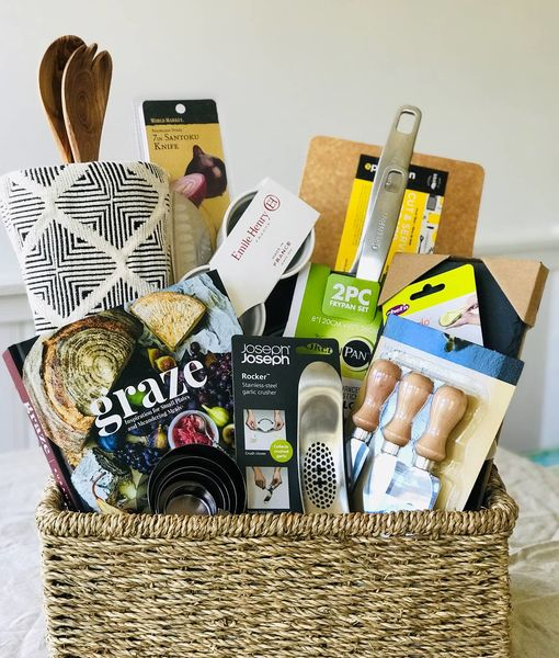 Win It! A Gift Basket for Your Favorite Foodie