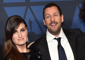 Adam Sandler & Idina Menzel Say This Scene in 'Uncut Gems' Was…