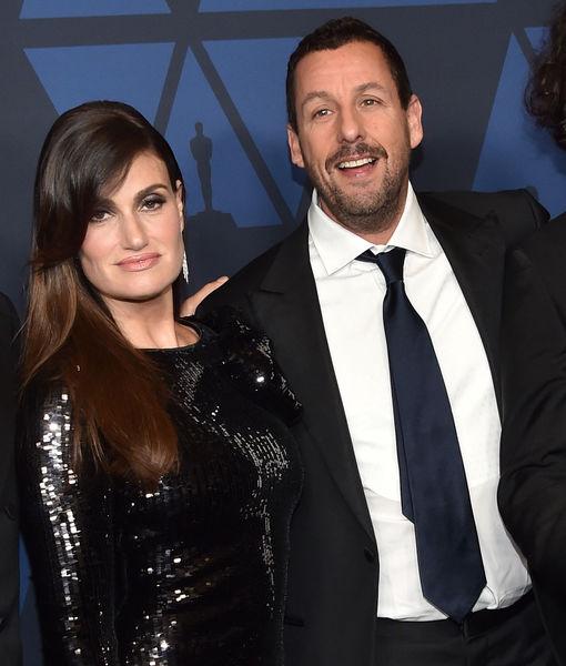 Adam Sandler & Idina Menzel Say This Scene in 'Uncut Gems' Was…