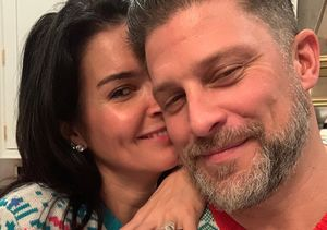 Angie Harmon & Greg Vaughan's Christmas Engagement — See Her…