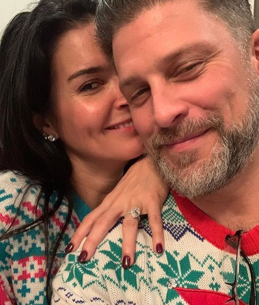 Angie Harmon & Greg Vaughan's Christmas Engagement — See Her Ring!