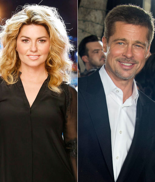 Has Shania Twain Met Brad Pitt Yet?
