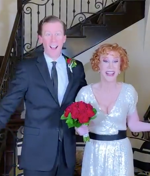 Kathy Griffin Weds Randy Bick... and Lily Tomlin Officiated!