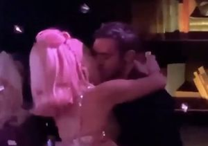 New BF? Lady Gaga's Midnight Kiss with Mystery Man on New Year's