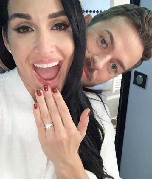 Nikki Bella & Artem Chigvintsev Secretly Engaged for Months