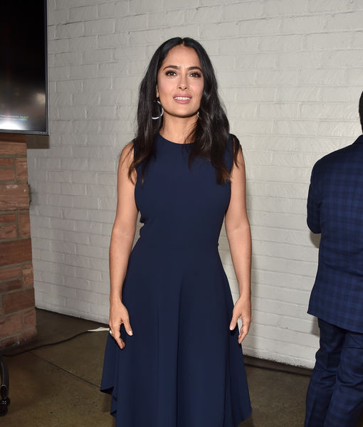 Salma Hayek Just Said the Sweetest Thing About 'Eternals' Co-Star Angelina Jolie