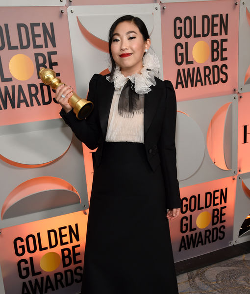 Awkwafina Talks Making History with Golden Globes Win, Plus: Her Sweet Words…
