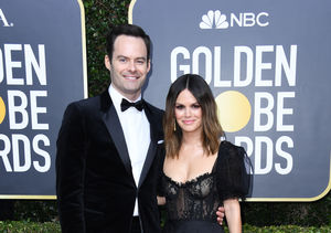 Bill Hader & Rachel Bilson Make It Red-Carpet Official at Golden Globes 2020