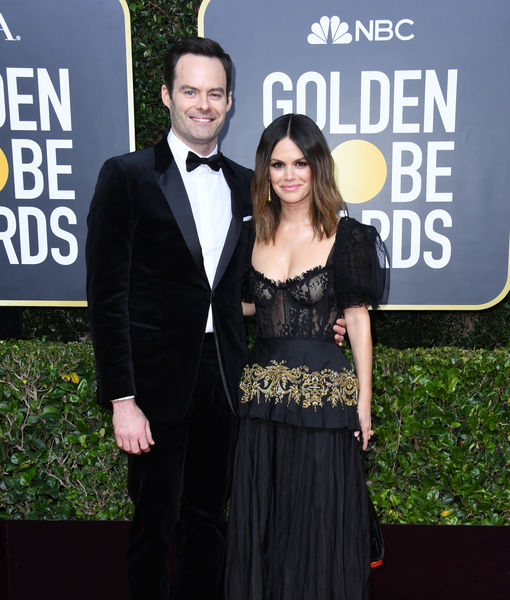 Bill Hader & Rachel Bilson Make It Red-Carpet Official at Golden Globes 2020