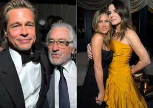 Brad Pitt & Jennifer Aniston Both Attended the Netflix Party, Plus: More…