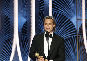 Brad Pitt's Humble Words Before Winning Golden Globe