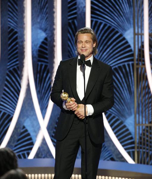 Brad Pitt's Humble Words Before Winning Golden Globe