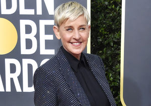 LOL! Ellen Goes the 'Extra' Mile at the Golden Globes
