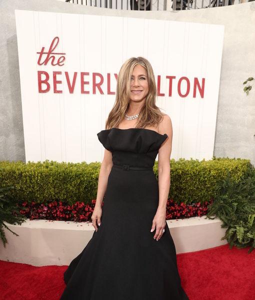 Jennifer Aniston Talks 'Wonderful' Golden Globes Return
