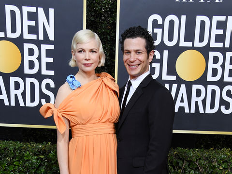 Pregnant Michelle Williams Gives Passionate Globes Speech, Makes It Official with Thomas Kail