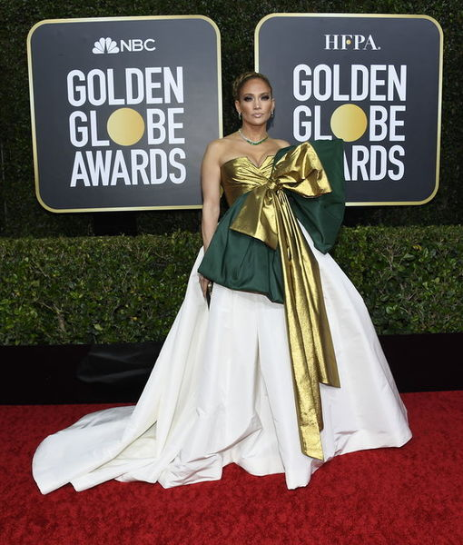 Jennifer Lopez Dishes on Her Valentino Dress at the Golden Globes 2020