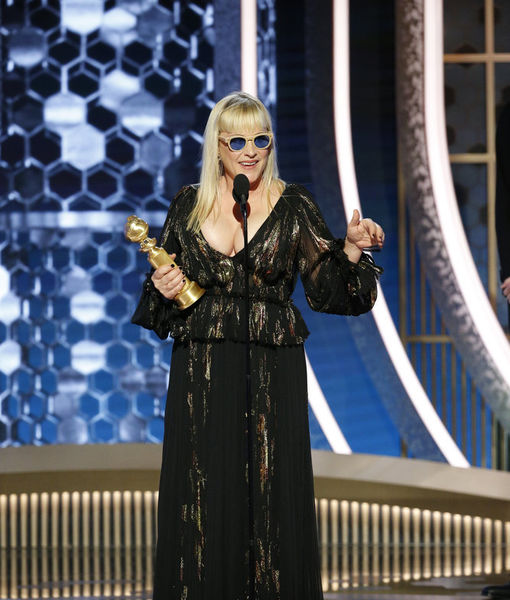 Patricia Arquette's Response to Ricky Gervais' Golden Globes Monologue