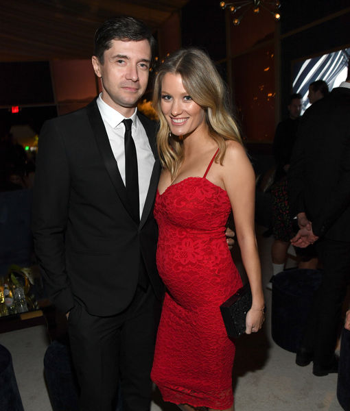 Topher Grace & Ashley Hinshaw Expecting Baby #2 — See Her Baby Bump!