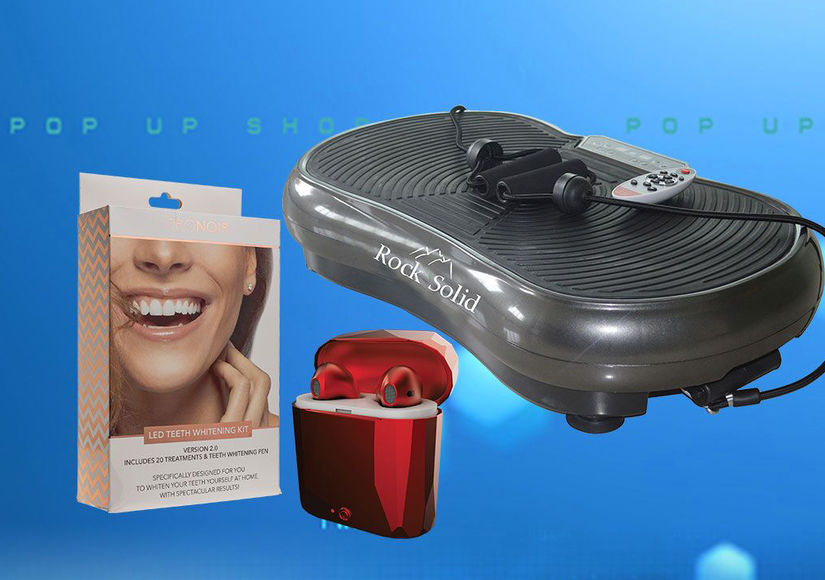 'Extra's' New Year's Deal Drop Pop-Up Shop: Vibration Machines, Teeth…