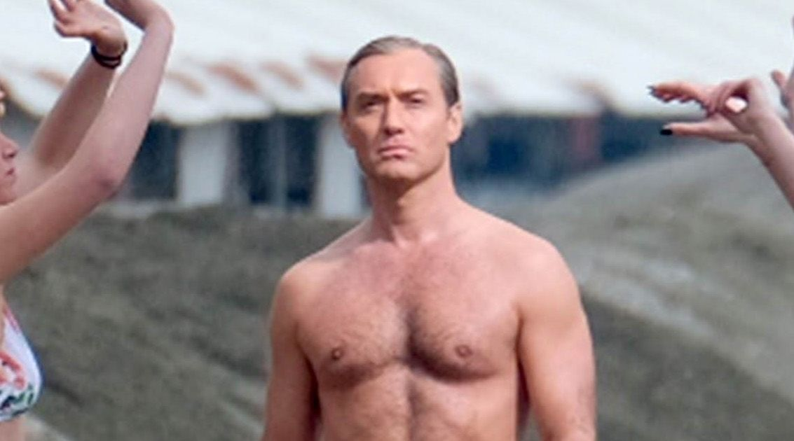 Jude Law Dishes on His Gone-Viral Scene in The New Pope