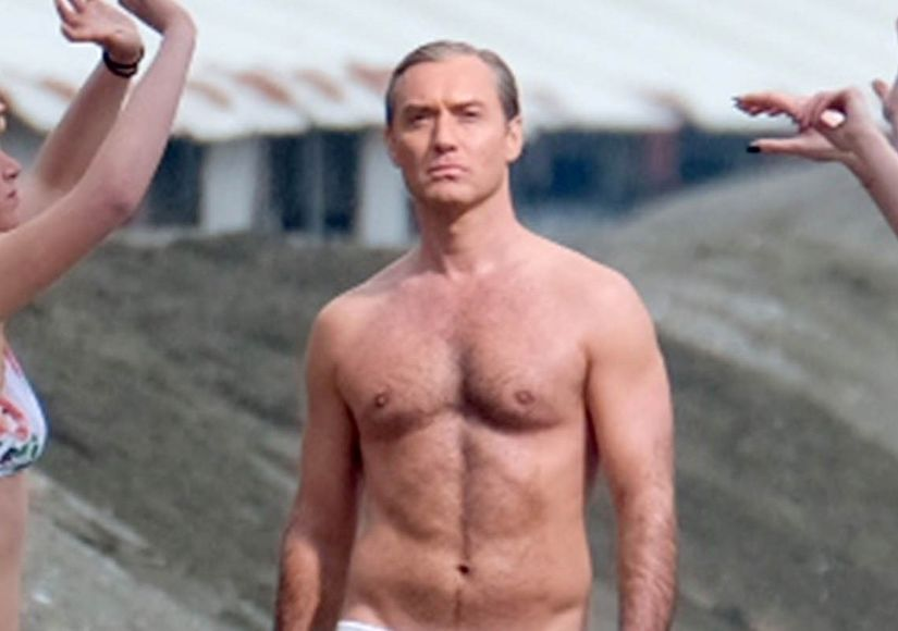 Jude Law Dishes on His Gone-Viral Scene in 'The New Pope'
