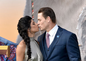 John Cena Packs on the PDA with Shay Shariatzadeh: 'I Am Very Happy'
