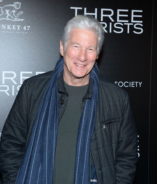 Richard Gere Talks 'Three Christs,' Plus: He Shares His Secret to Staying Young