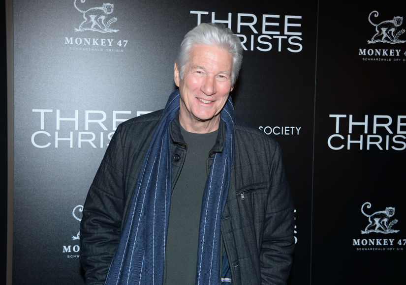 Richard Gere Talks 'Three Christs,' Plus: He Shares His Secret to Staying…