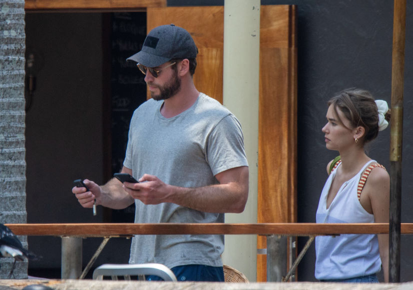 Liam Hemsworth Packs on the PDA with New GF Gabriella Brooks