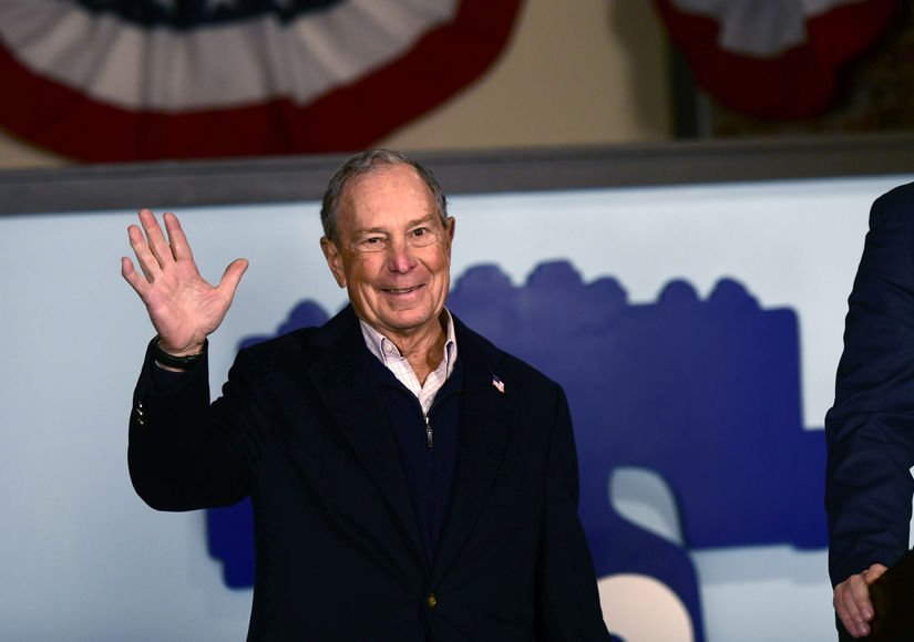Democratic Candidate Mike Bloomberg Says 'Street Fighter' President Trump Is 'Not Unbeatable'